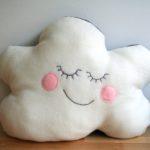 Reversible cloud pillow